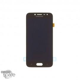 Ecran LCD + Vitre Tactile Noire Samsung J2 Pro 2018 J250 (officiel)