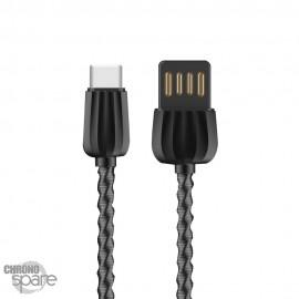 Cable Type C Eloop S43 Noir