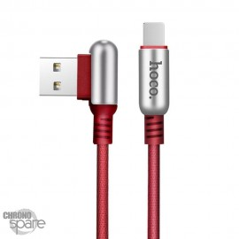 Cable Lightning Hoco U17 Rouge