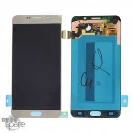 Vitre Tactile + Ecran LCD Or Samsung Galaxy Note 5 N920F (officiel)