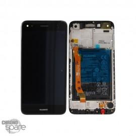 Ecran LCD + vitre tactile + Batterie Huawei Y6 Pro 2017 - Noir (officiel)