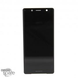 Ecran LCD + vitre tactile Noir Sony Xperia XZ2 (officiel)