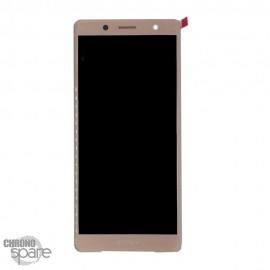 Ecran LCD + vitre tactile Rose Sony Xperia XZ2 Compact (officiel)