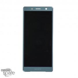 Ecran LCD + vitre tactile Vert Sony Xperia XZ2 Compact (officiel)