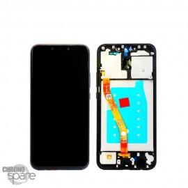 Ecran LCD + Vitre Tactile Huawei Mate 20 Lite Noir
