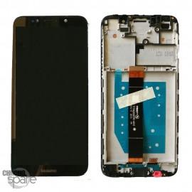 Ecran LCD + vitre tactile Huawei Y5 2018 - Noir avec chassis