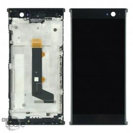 Ecran LCD et Vitre Tactile noire Sony Xperia XA2 H3113/ XA2 Dual H4113 avec chassis
