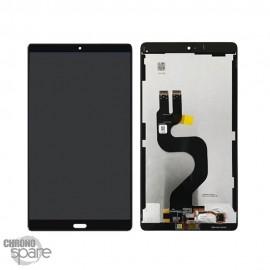 "Ecran LCD + Vitre tactile Noire Huawei Mediapad M5 8.4"""