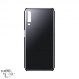 Vitre arrière noire Samsung A7 2018 (SM-750F)