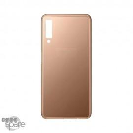 Vitre arrière Or Samsung A7 2018 (SM-750F)