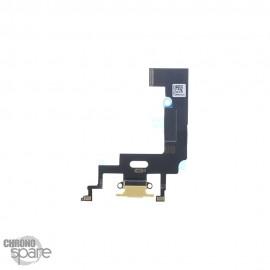 Nappe Connecteur de Charge Jaune iPhone XR