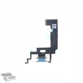 Nappe Connecteur de Charge Bleu iPhone XR