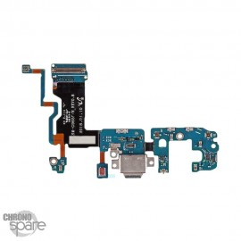 Nappe connecteur de charge + Micro Samsung S9 Plus G965F