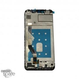 Ecran LCD + vitre tactile Huawei Y7 2019 - Noir avec chassis