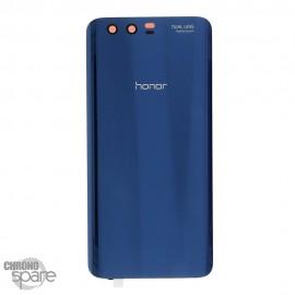 Vitre arrière + vitre caméra Bleu (officiel) Honor 9
