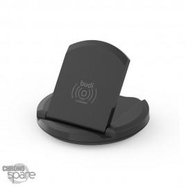Support et Chargeur induction Budi 10W - Noir