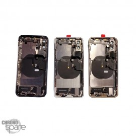 Chassis iphone XS Noir - avec nappes