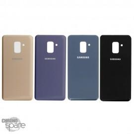 Vitre arrière Noire Samsung Galaxy A8 Plus 2018 A730F