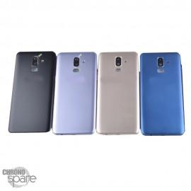 Vitre arrière Bleue Samsung J8 2018 J810F