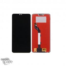 Ecran LCD & Vitre Tactile noire Xiaomi Mi8 lite avec chassis