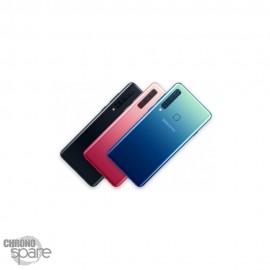 Vitre arrière Bleue + lentille caméra Samsung Galaxy A9 2018 A920F