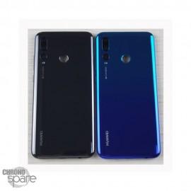 Vitre arrière + lentille caméra noire Huawei P Smart Plus 2019