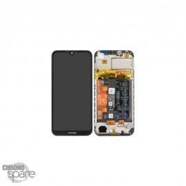 Ecran LCD + vitre tactile + Batterie Huawei Y5 2018 - Noir (officiel)