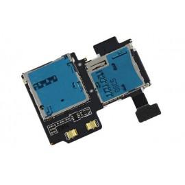 Lecteur Sim + Carte mémoire Galaxy S4 i9500