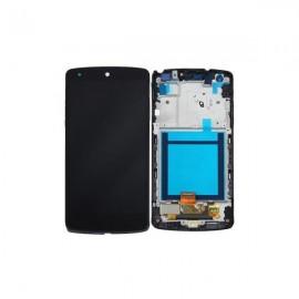 Ecran LCD + vitre tactile + châssis Nexus 5 d820 Noir Chinois