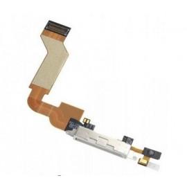 Nappe connecteur dock USB blanche iPhone 4S