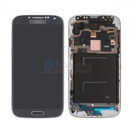 Vitre tactile et écran LCD S4 i9506 GH97-15202L gris/noir (Officiel)