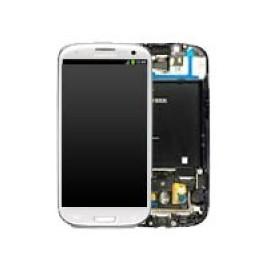 Vitre tactile et écran LCD Samsung Galaxy S3 blanc i9305 (officiel)
