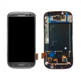 Vitre tactile et écran LCD Samsung Galaxy S3 gris i9305 (officiel)