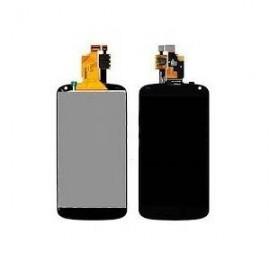 Ecran LCD + vitre tactile + châssis LG G2 Mini D620 Blanc (Compatible AAA)