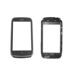Vitre tactile Nokia Lumia 610 + Châssis Gris