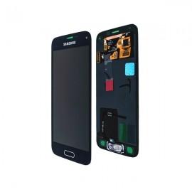 Vitre tactile et écran LCD Galaxy S5 Mini noir G800F GH97-16147A (officiel)
