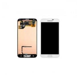 Vitre tactile et écran LCD Galaxy S5 blanc G900F (officiel) GH97-15959A