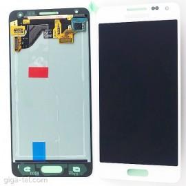 Vitre tactile et écran LCD Samsung Galaxy Alpha G850 Blanc (officiel) GH97-16386D