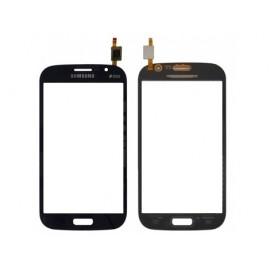 Vitre tactile Samsung Galaxy Grand i9060 BLEU/NOIR