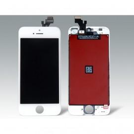 Ecran LCD + vitre tactile iPhone 5S Blanc Fournisseur T
