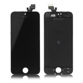 Ecran LCD + vitre tactile iPhone 5C noir Fournisseur T