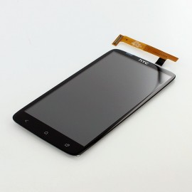 Vitre tactile et écran LCD HTC One X plus Noir