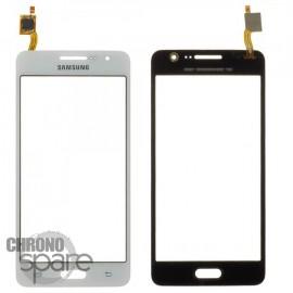 Vitre tactile blanche Samsung Galaxy Grand Prime