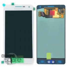 Vitre tactile + Ecran LCD Samsung Galaxy A500F (officiel) GH97-16679A Blanc