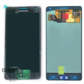 Vitre tactile + Ecran LCD Samsung Galaxy A500F (officiel) GH97-16679B Noir