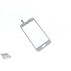 Vitre tactile LG F70 Blanche