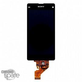 Ecran LCD + vitre tactile Xperia Z1 Compact Noir (officiel)