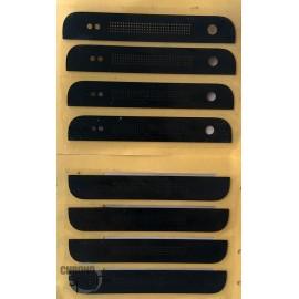 Sticker Noir Haut et Bas HTC One Mini