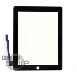 Vitre tactile noire iPad 3/4 Fournisseur T