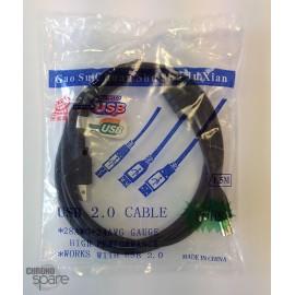 Câble Imprimante 1.5m A/B